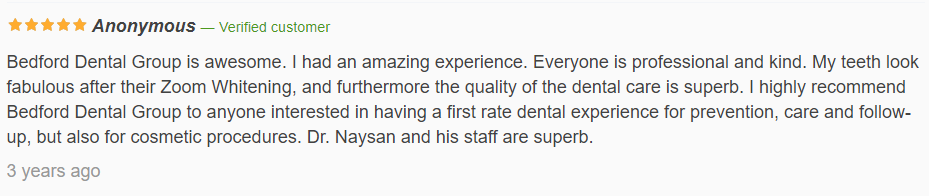 Anonymous Meet Our Dentists Review11